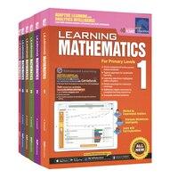 6 Pcs/Set SAP Learning Mathematics Book Grade 1 6 Children Learn Math Books Singapore Primary School Mathematics Textbook