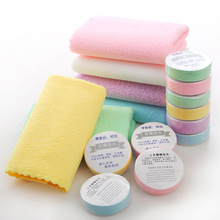 Outdoor Travel Hotel Disposable White Towel Foot Bath Beauty