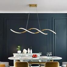 NEW Chrome/Gold Plated Modern led Chandelier for dining room kitchen Room Led chandelier 90-260V luminaire suspension