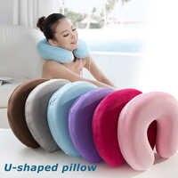 U-образная подушка для путешествий поддержка шеи голова шеи надувная подушка для отдыха u-образная подушка надувная подушка для шеи надувна...