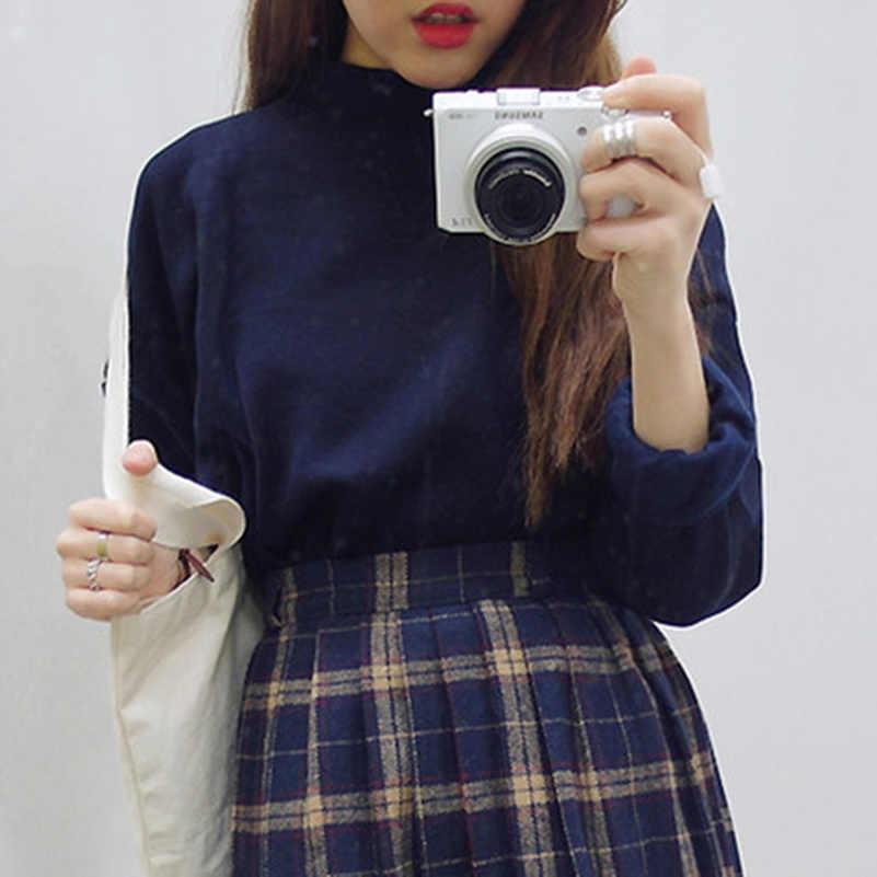 도매 M-XXL 귀여운 여성 후드 풀오버 9 색 2020 가을 코트 겨울 느슨한 양털 두꺼운 니트 스웨터 여성