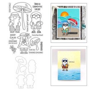 2020 новая карликовая шапка грибовидной формы, волейбольное слово, прозрачный штамп и металлические штампы для скрапбукинга, поздравительна...