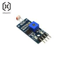 LM393 оптический чувствительный светильник сопротивления обнаружения светочувствительный сенсор модуль для arduino DIY Kit