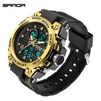 SANDA männer uhr armbanduhr quarz Orologio uomo uhren Clock automatische digitale armbanduhren Uhr часы мужские relogio masculin