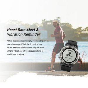 Image 3 - P1 מיני GPS Smartwatch IP68 עמיד למים שעונים ספורט Tracker צג כושר ספורט הודעה תזכורת ארוך המתנה