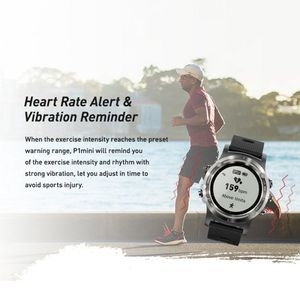 Image 3 - P1 mini GPS Smartwatch IP68 Waterproof Watches Sport Tracker Fitness Monitor Sport Message Reminder Long Standby