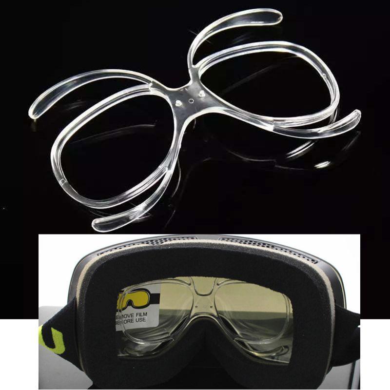 Простые портативные лыжные очки близорукость рамка сноуборд очки Объектив Рамка адаптер