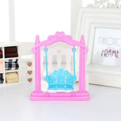 Новый стиль Малый качели Детская кукла Барби аксессуары Барби принцесса Барби Коллекционное издание Барби-Игрушка аксессуары PJ