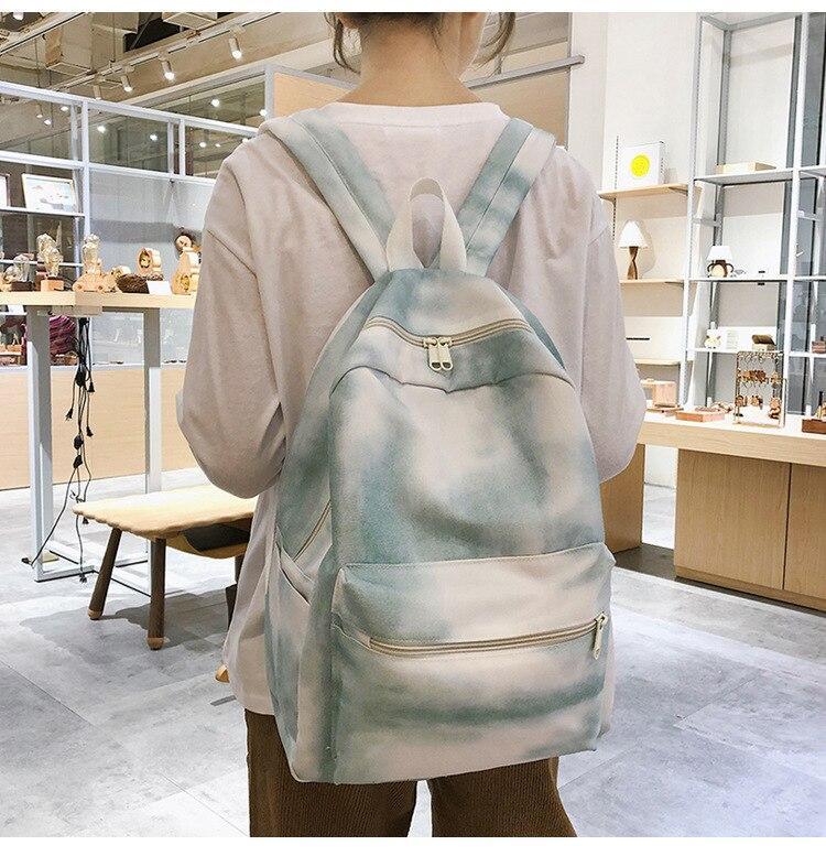 Bonito estilo meninas escola mochila de alta