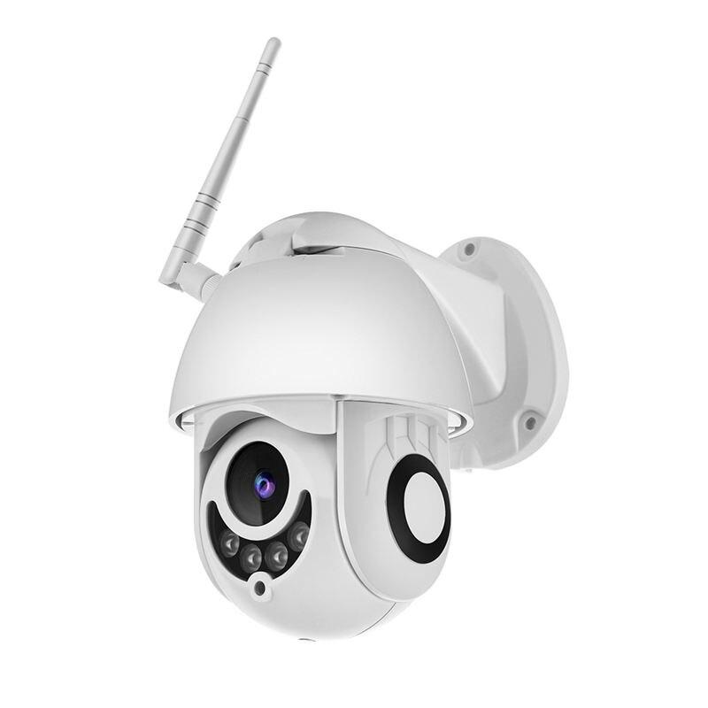 Caméra Wifi caméra Ip Ptz extérieure 1080p dôme de vitesse caméras de sécurité Cctv caméra Ip Wifi extérieur 2mp Ir surveillance à domicile prise US