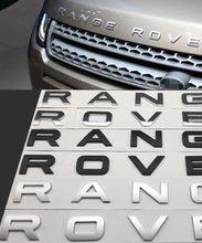 Alta qualidade abs carro letras frente capô emblema emblema do carro tronco traseiro adesivo estilo do carro acessórios de automóveis