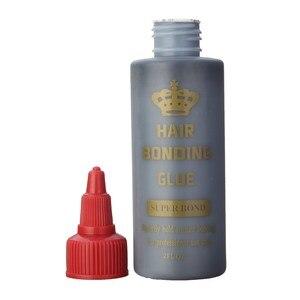 Hair Bonding Glue Super Bonding Liquid Glue For Weaving Weft Wig Hair Extensions Tools Professional Salon Use 1b ottle 70