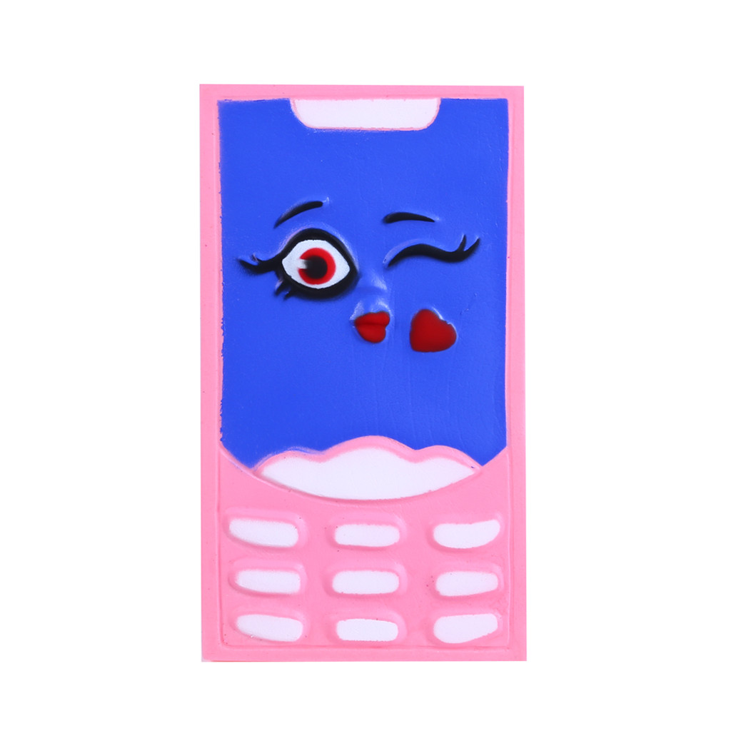 Simulation Beauty Telephone Slow Rising Squeeze Toys Decompression Slow Rebound Toy Kids&Adult Anti-Stress #B