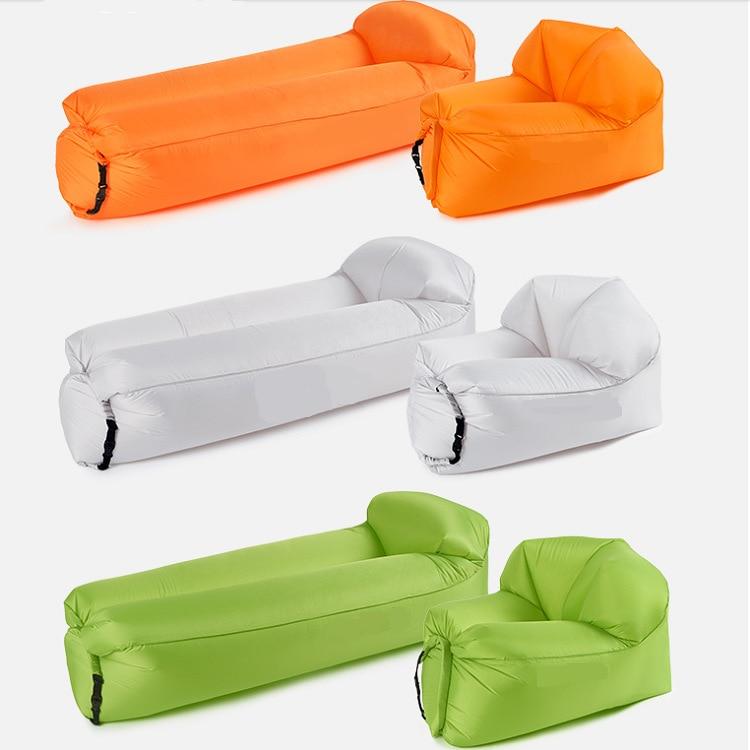 230 Sleeves Polyester Taffeta Inflatable Lazy Sofa Air Folding Can Storage Camping Picnic Sofa