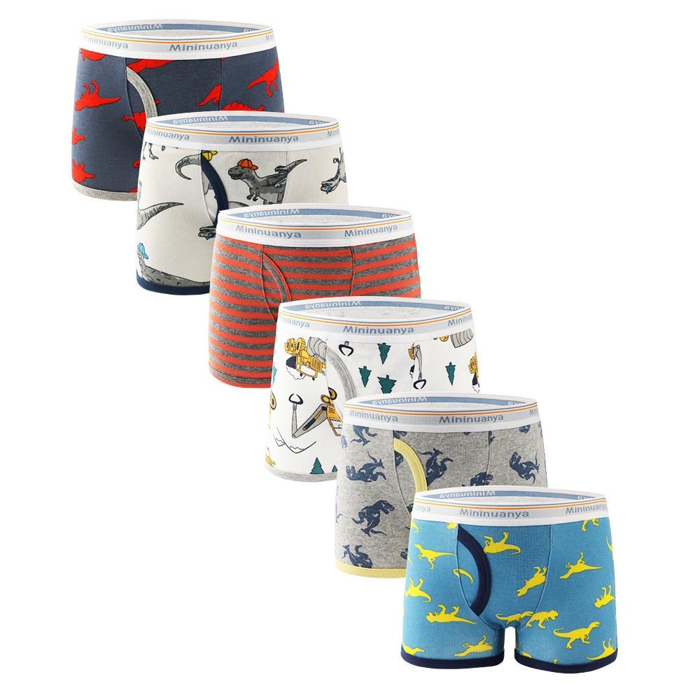 3 Piece Kids Boys Underwear Cartoon Children's Shorts Panties for Baby Boy Boxers Briefs Teenager Underpants 2-10T