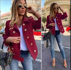 Spring European Style Cashmere Coat Woman Jackets Clothing Women Wool Coat(China)