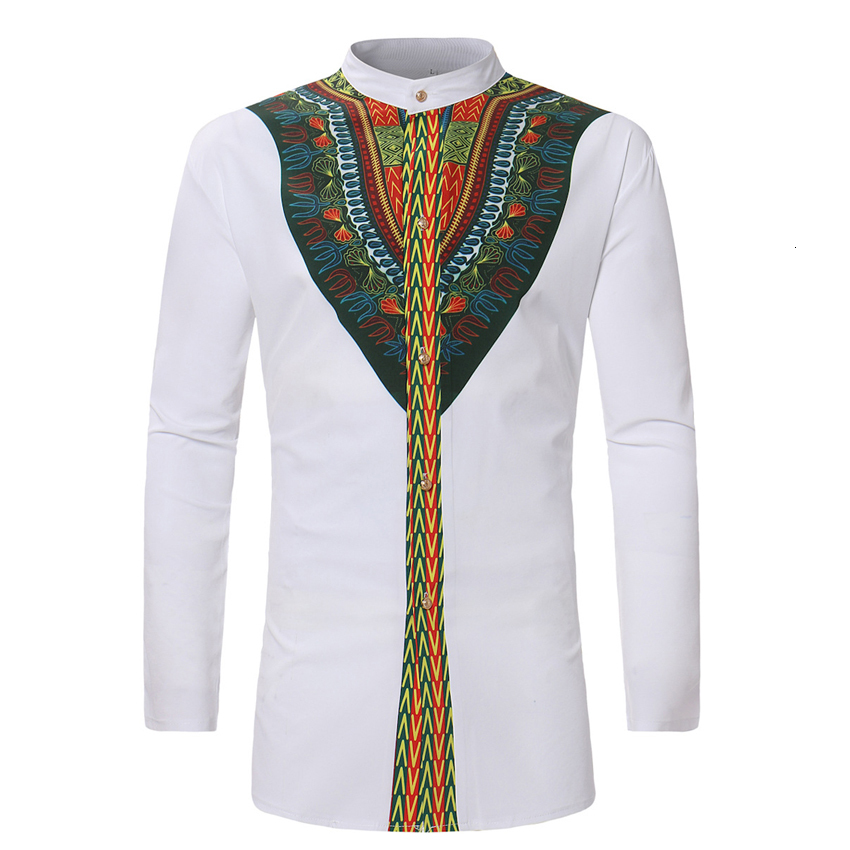 3D Print Indian Style Male Embroidery Pattern Traditional Shirt Single Breasted African Dashiki Man Bazin Riche Tops Outfit