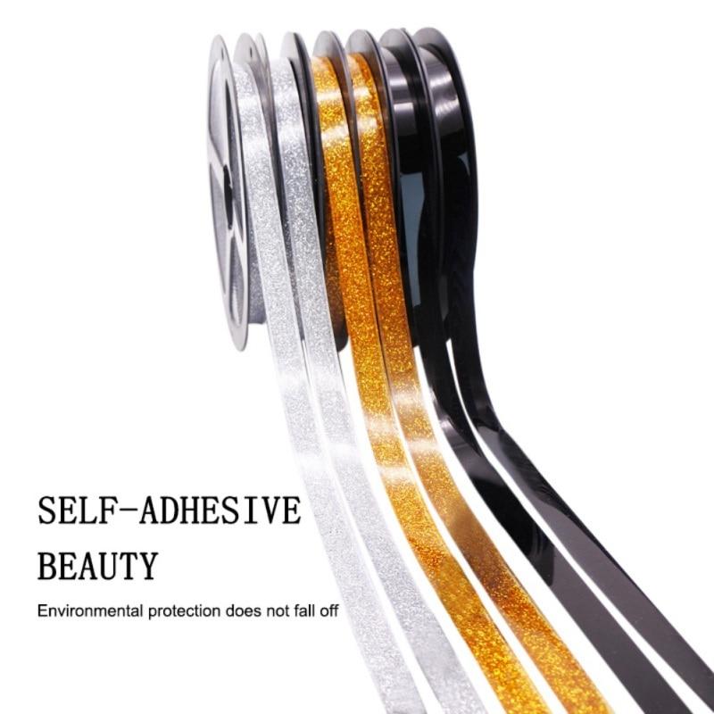 6M DIY Self-adhesive Ceramic Tile Gap Tape  Mildewproof Decorative Corner Side Edges Strip Stickers