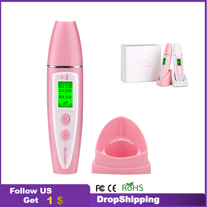 Skin Analyzer Body Face Oil Water Tester Tool Health Monitor Moisture Portable Smart Professional Aesthetic Equipment