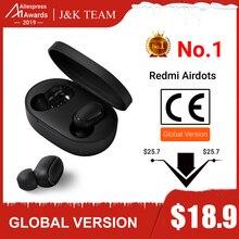 Inlock Xiaomi Redmi Airdots Xiaomi Беспроводные Наушники управление голосом Bluetooth 5,0 контроль шумоподавления