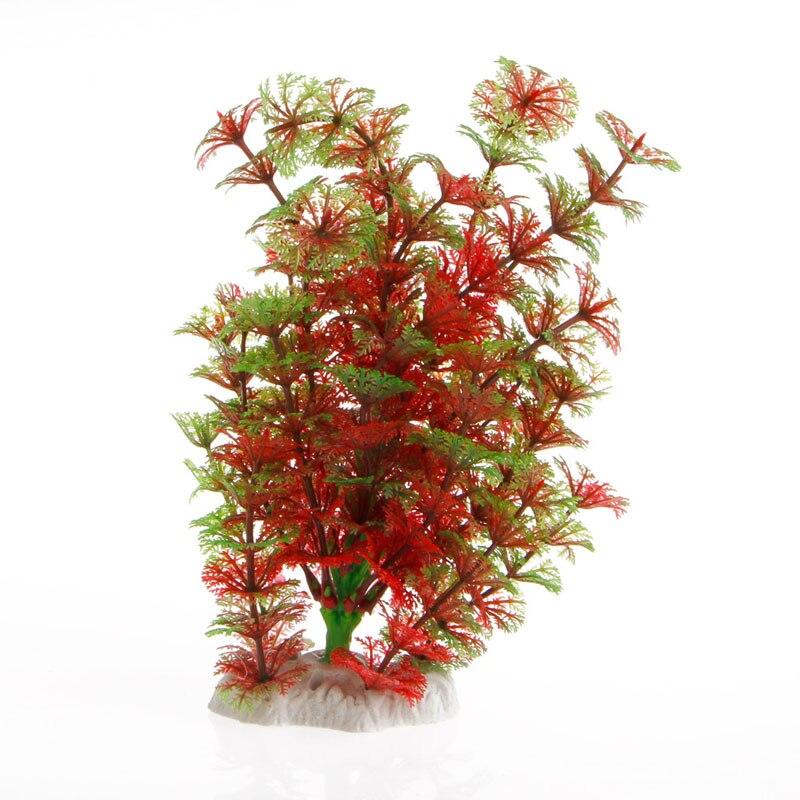 Plastique artificiel plante eau herbe Aquarium Aquarium ornement décoration nouveau pour la décoration de la maison