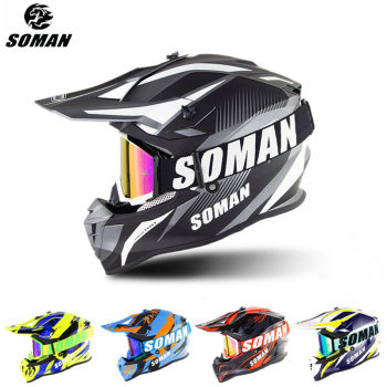 Casco de Motocross para Moto, Casco para Moto Dirt Bike ECE, MX, todoterreno, Dh