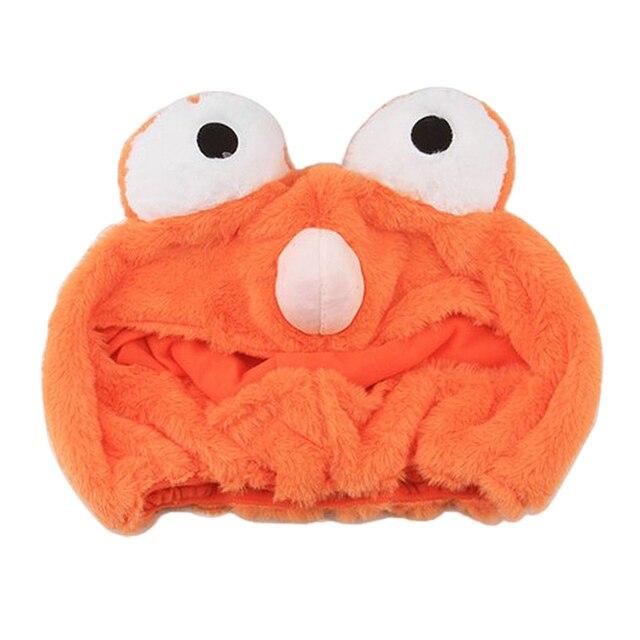 Housse de casque dextérieur pour moto | Couverture personnalisée, polaire de corail, Orange, pour faire du vélo
