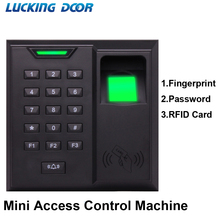 digital fingerprint 125Khz RFID Access Control Time attendance password lock fingerprint lock integrated machine key 500 user
