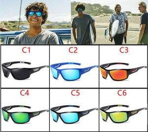 Image 3 - VIAHDA lunettes de soleil polarisées pour hommes, nouveau Design, Vintage, monture solaire Sport, dextérieur, pour la conduite
