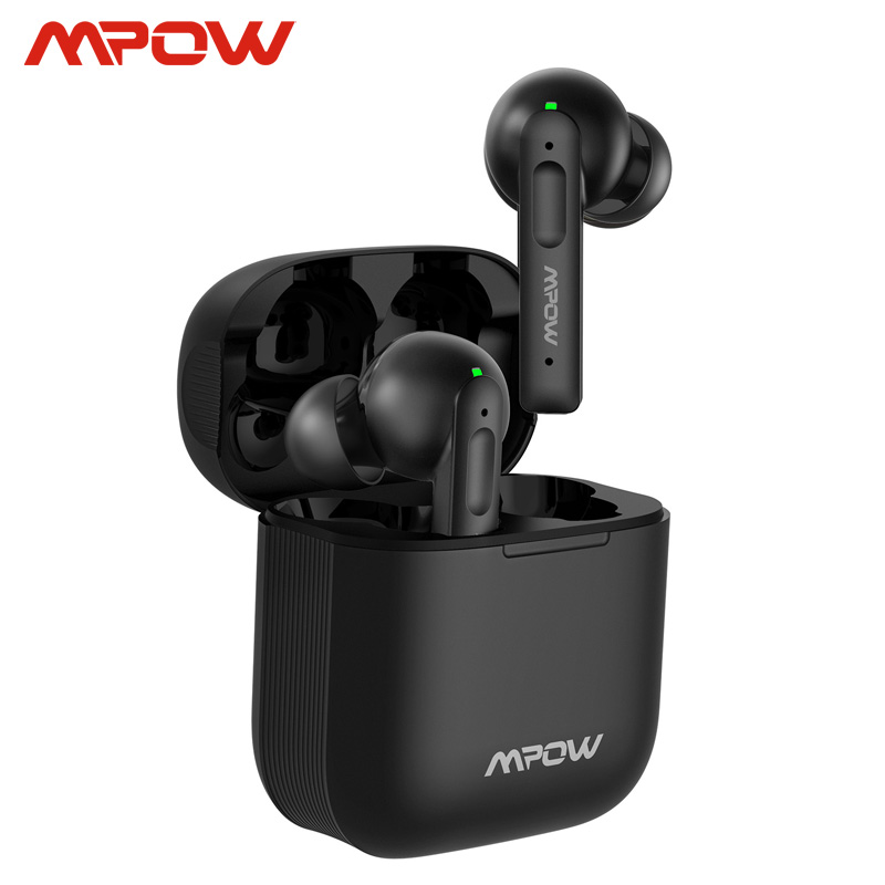 Mpow X3 Bluetooth 5 0 True Wireless Earbuds Active Noise Cancelling Earphones 27h Playback In-ear Headset With Mic For iPhone SE