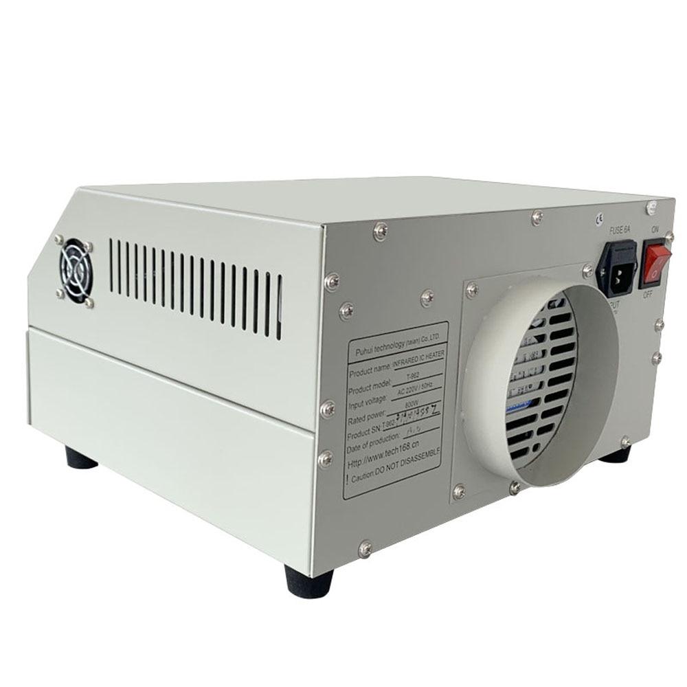 In magazzino PUHUI T-962 Radiatore a infrarossi IC T962 Desktop - Attrezzatura per saldare - Fotografia 5