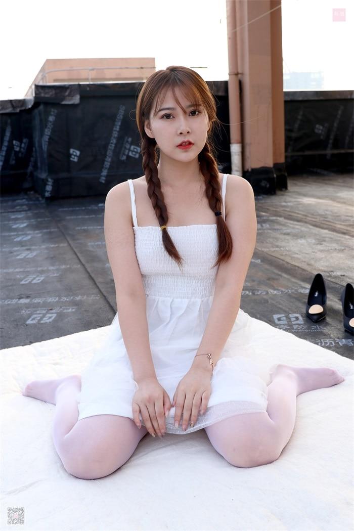 ⭐丝模写真⭐SiHua思话-苏羽SH021天台起舞的少女苏羽[94P/4V/150MB]插图
