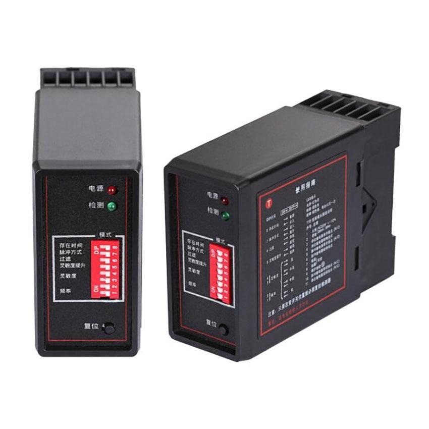 Vehicle Loop Detector, Exit Safety Sensor Detector, 4 Levels Sensitivity, Single Channel Inductive Vehicle Loop Detector Sensor