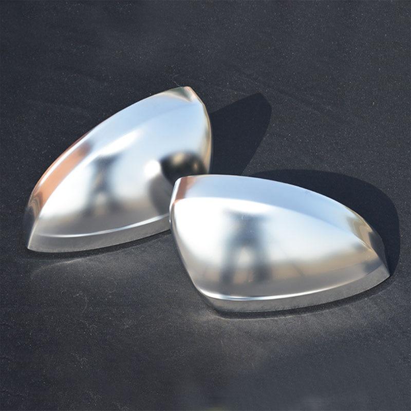 Side Mirror Case Chrome Matt Door Wing Mirror Cover Cap Shell Housing For Tiguan 2017 2018