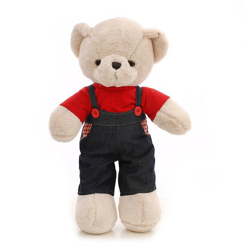 Ours en peluche géant jouets en peluche amoureux cadeaux grande taille Ted poupées avec arc ours en peluche peluche Teddy-Bear DMR085