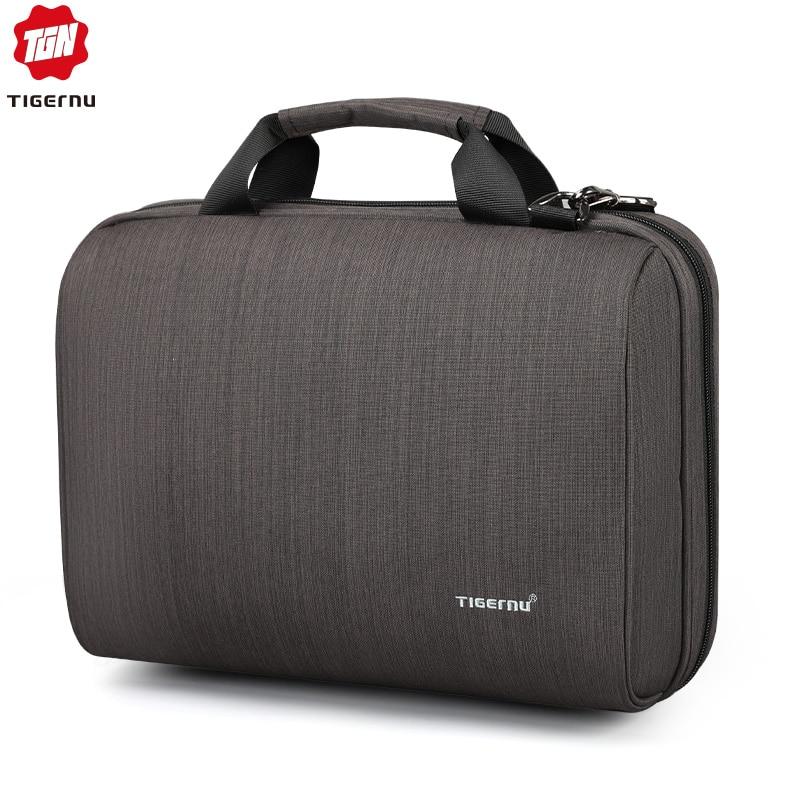 Tigernu Men Business Handbag Messenger Bag Fits 13.1