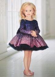 Robe de mariée à paillettes pour filles | Nouvelle mode, à fleurs, robe de princesse, fête d'anniversaire pour enfants adultes, nouveau style