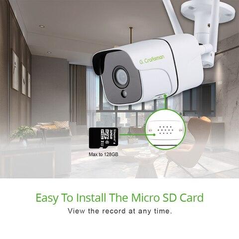 wifi camera 1080 p 5mp de audio