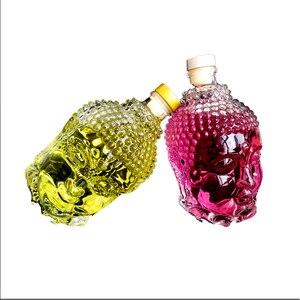 Image 3 - 750ML szklana butelka posąg buddy kryształ wody wino w butelce szklany kubek do wódka whisky napój szkło ślubne vasos de vidrio