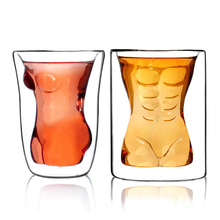 Get more info on the Creative Sexy Human Beer Glass Funny Beautiful Muscle Men's Double Wall Glass Wine Whisky Vodka Lens Glass Valentine's Day Gift