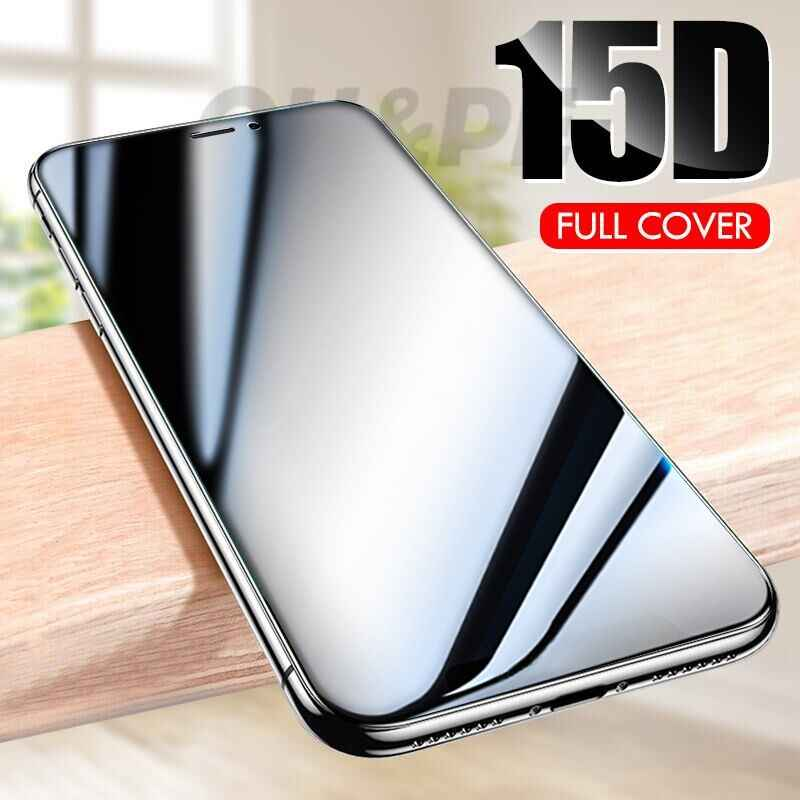 15D Full Protective Tempered Glass For iphone 6 7 6s 8 Plus X XS Max XR Screen Protector Glass For iphone 11 Pro Max 7 6S Glass