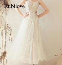 Rubilove Sling light 2019 new French bride Sen series simple slim super fairy small dress цена