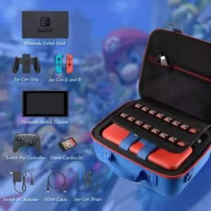 Image 2 - Dla Nintendo Switch Big Case przełącznik do Nintendo NS akcesoria konsola podręczny schowek pokrywa torba na rękę Box na przełącznik Nintendo