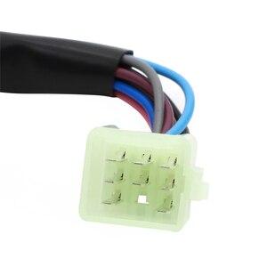 Image 5 - Interruptores de controle do guiador chifre botão sinal volta farol interruptor início para chinês scooter gy6 4 stroke taotao jcl znen bms