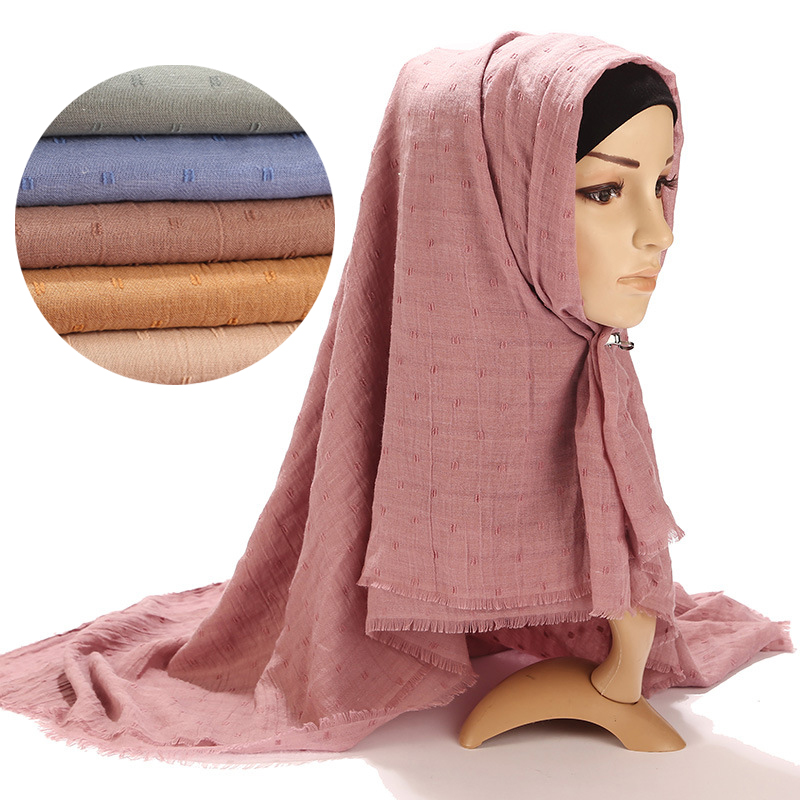 75*180CM Muslim Women Hijab Scarf Instant Shawl Islamic Foulard Headscarf Femme Musulman Hijabs Arab Headwrap Scarves Kopftuch