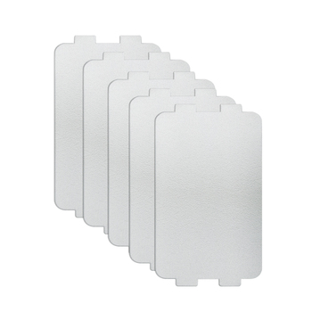 5pcs Thicker Spare parts for microwave ovens mica microwave 10.7*6.4cm mica sheets for Midea magnetron cap microwave oven plates mexi 2 pcs 13 x 13cm microwave oven mica sheets repairing accessory plates sheets
