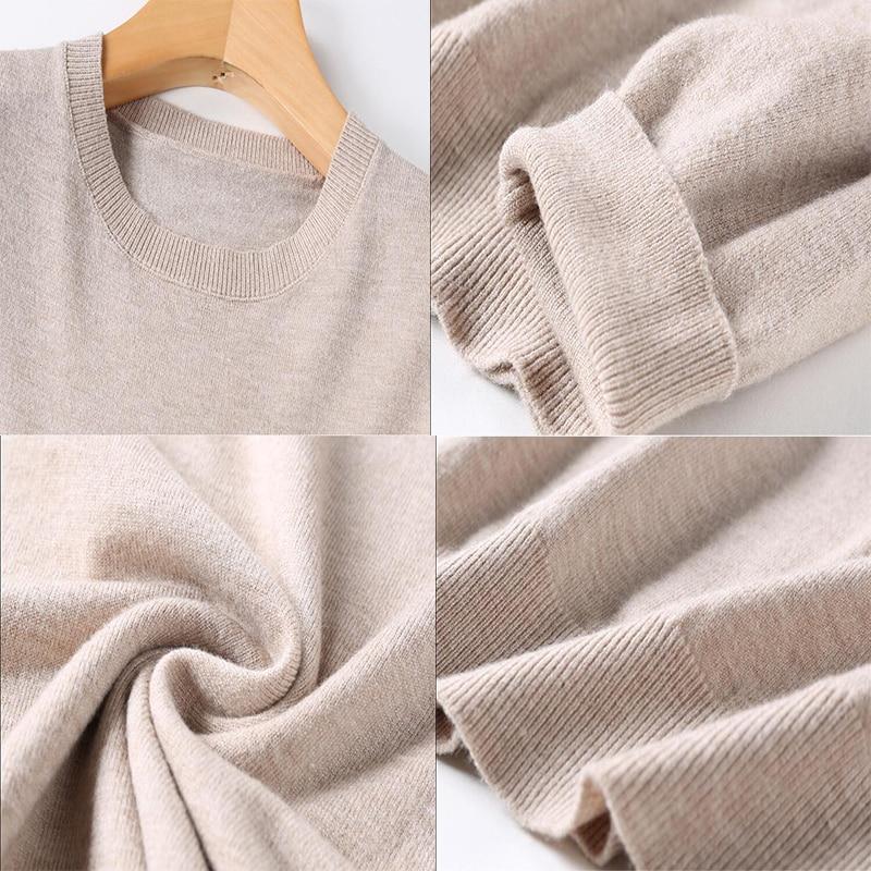 GCAROL 2019 Fall Winter Candy Knit Jumper Women 30 Wool Sweater Soft Stretch OL Render Knit