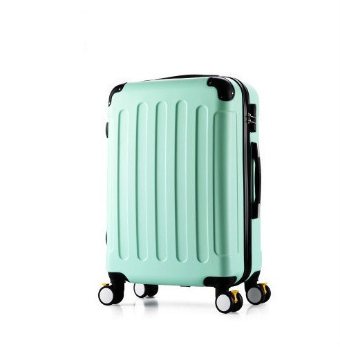 Cheap New Fashion Korean ABS+PC Rolling Luggage Trolley Men Travel Bag 20 inch Boarding Box Women Suitcases