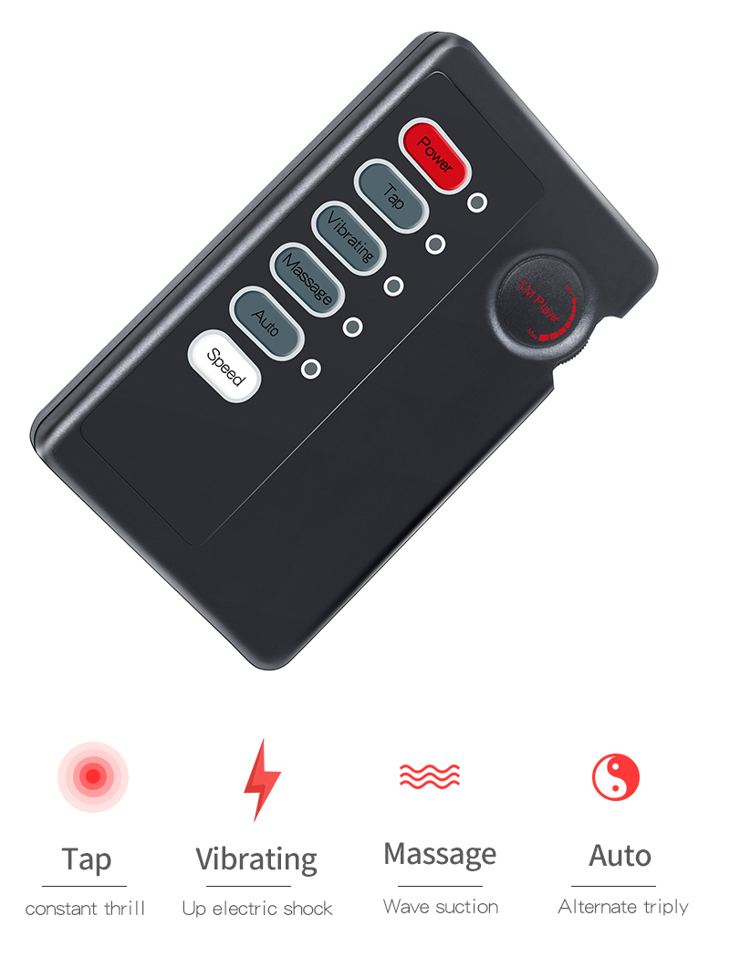 New Dual Output Electric Shock DIY Host SM Players Multi-mode Electro Shock Power Box E-stim Adult Sex Accessaries For Couple