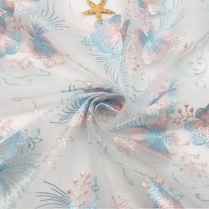 """Сетка вышитые ткани может иметь разный метраж, двусторонние цветок ткань кружевная ткань для платья для свадебного торжества, юбка летний парча Тюль швейная """"сделай сам"""" Ткань      АлиЭкспресс"""
